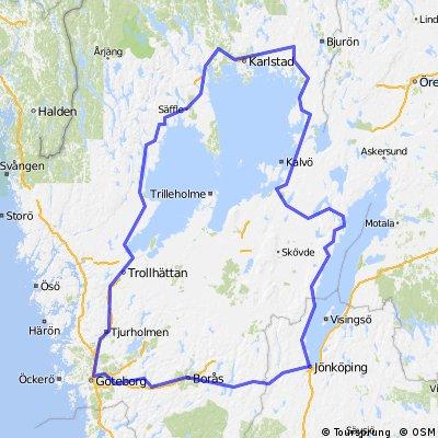 Göteborg-Vänernsee-Vätternsee