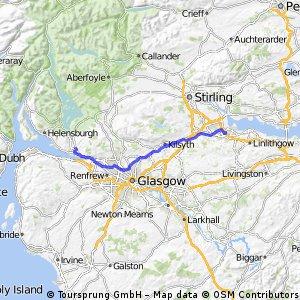 Dumbarton to Grangemouth