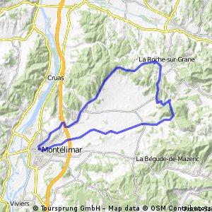 2016 Ride Day 97 - Montélimar Circle to East