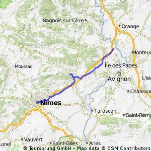 Nimes-Roquemaure