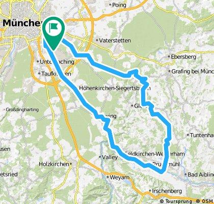 Trudering Moosach Sempt-Mangfall Bruckmühl Perlach