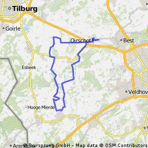 15-6-2016 (wo) Rondje langs Bladel/Netersel