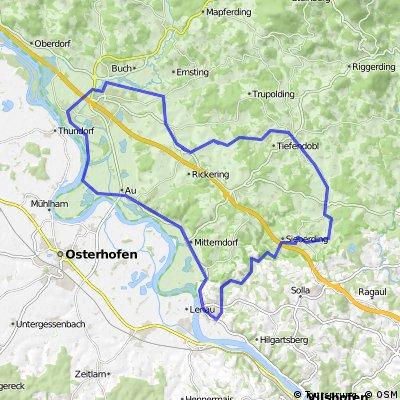 Niederalteich-Poppenberg-Ohetal-Niederalteich