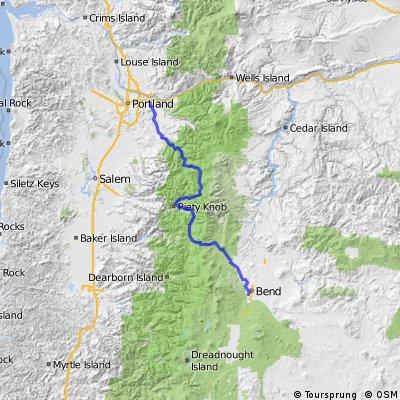 Portland to Bend