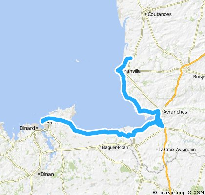 St Malo to Coudeville