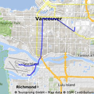 ride from Vancouver to Richmond