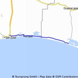 Route 2. San Jose - Monterrico