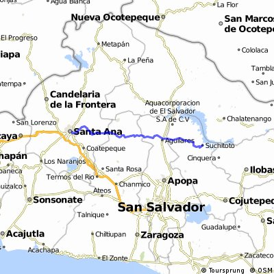 Route 7: Santa Ana - Suchitoto