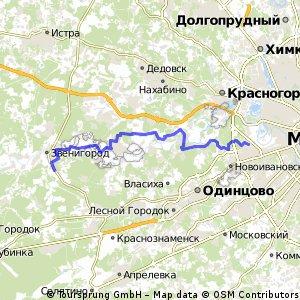 Москва - Звенигород