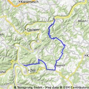 Treis Karden - Mörsdorf - Zell vom 17. Juni 2016
