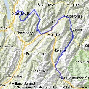 Saint Jean de Maurienne-Aix Les Bains