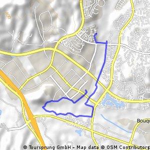 Short bike tour from Santa Clarita to Rancho Santa Clarita