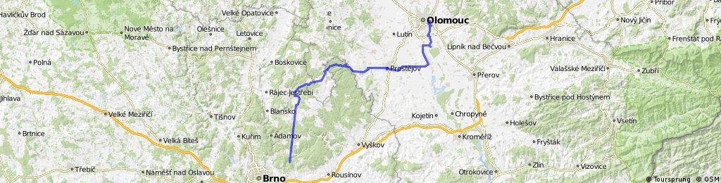 Olomouc-Rancuv bei Brno