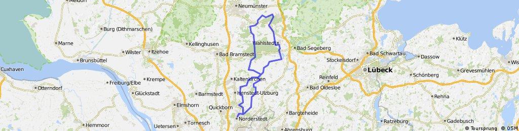 Auen-Moore - RTF 112 km