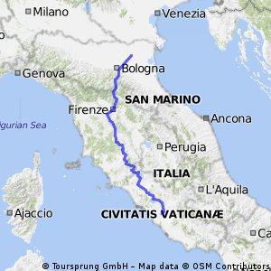 Reitsma Ferrara naar Rome