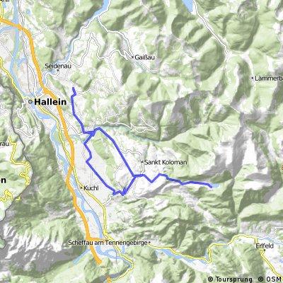 Adnet - Georgenberg - Seewaldsee (St. Koloman)