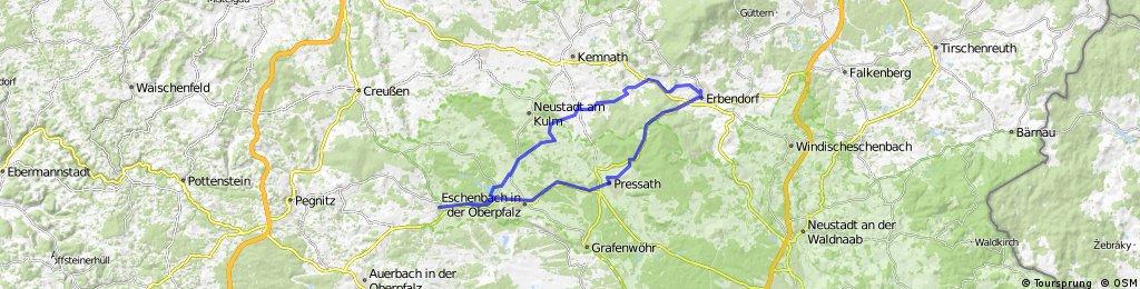 Erbendorfer Runde mit Hessenreuther Berg