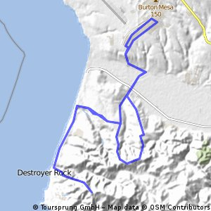 Tour de VAFB Climbing