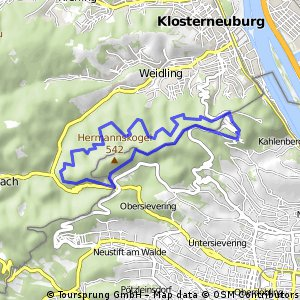 Detská túra na Kahlenbergu