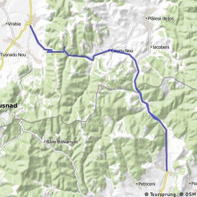 Valea Seacă - Cozmeni - Valea Seacă
