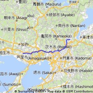Kyoto to North of Kobe