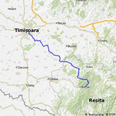 Bocsa - Timisoara