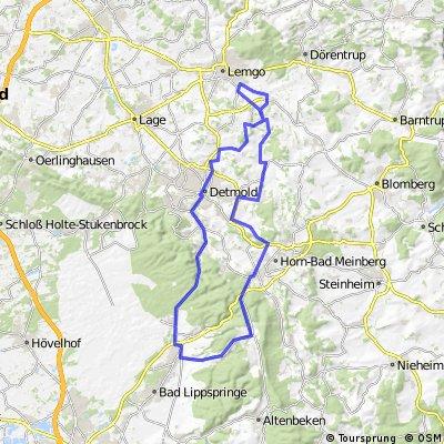 Tour durch die Deutsche Alleenstraße sowie über die Gauseköte