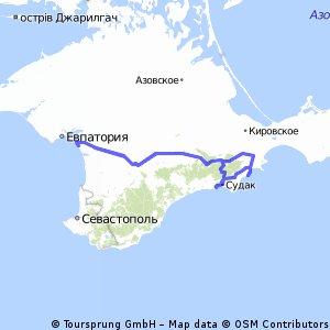 Крым (Саки-Коктебель-Судак-Новый свет) 19.06.2016