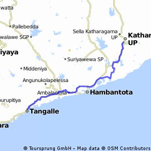 Katharagama - Tangalle