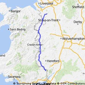 Day 3 Monmouth To Tarporley