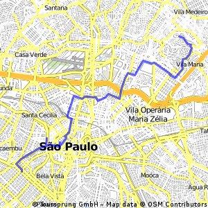 Paulista - Minhocão - Vila Maria -ride through São Paulo