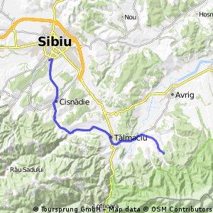 Sibiu - Sebesul de Sus