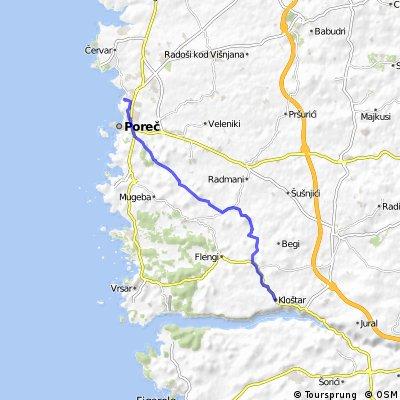 letzter Tag in Istrien und Rüchreise