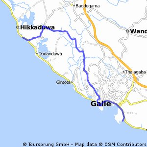 Unewatuna- Hikkaduwa