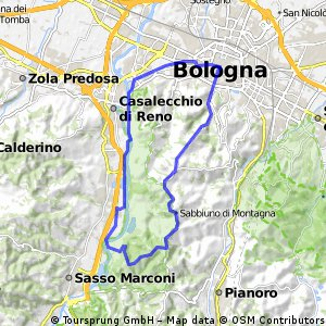 Bologna - Vizzano - Pieve del Pino - Bologna