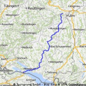 RR Blaustein/Ulm - Konstanz /Bodensee