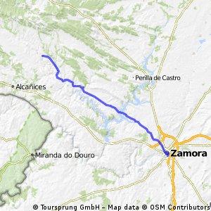 Etapa 1 Zamora Bercianos de Aliste 60km