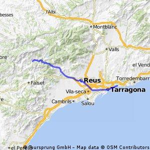 D33 Tarragona - Poboleda (49km)