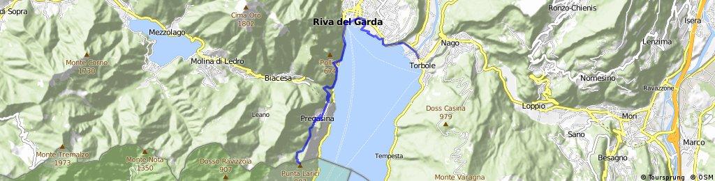Gardasee Torbole - Punta Larici