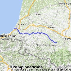 PC - day 4 -  Biarritz - Oloron-St-Marie