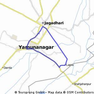 bike tour through Yamunanagar