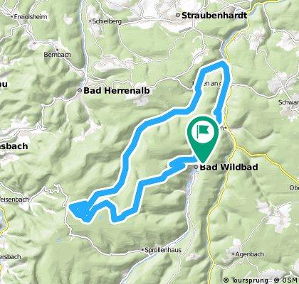 Wildbad Bergrunde