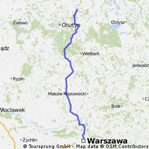 Kikity (Warmia) - Warszawa