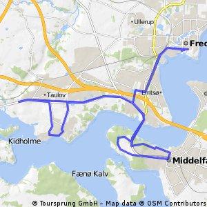 Challenge Fredericia Bike Course