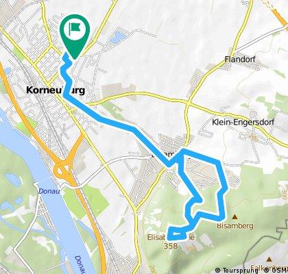 Radrunde durch Korneuburg