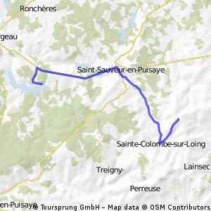 Le Cedre to Lake Bourdon