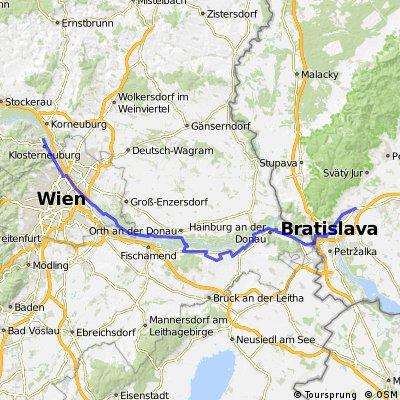 Etap 1 Vienna - Bratislava (Schloss Petronell)