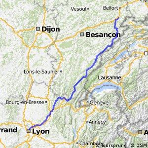 Lyon - Montbeliard
