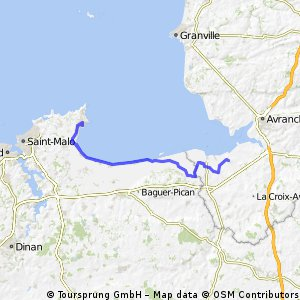day 6 huisnes -cancale