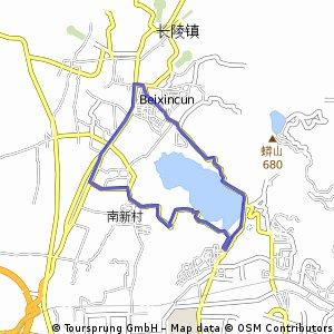 Shisan lake